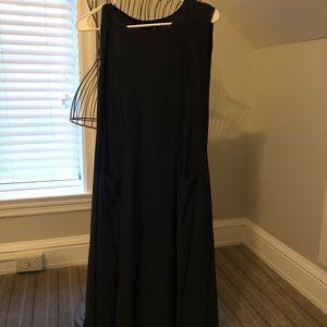 Dress midi high quality designer.